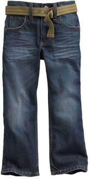 Lee Boys 4-7x Dark Blue Relaxed Bootcut Jeans