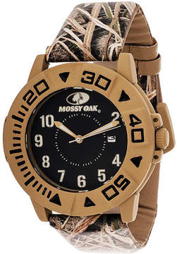 JCPenney Mossy Oak Mens Multicolor Strap Watch-Mow029bg