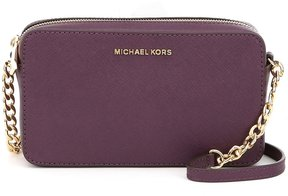 MICHAEL Michael Kors Medium East/West Chain Cross-Body Bag - DAMSON - STYLE