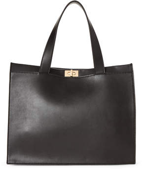 French Connection Black Iman Tote