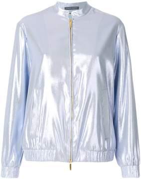 Alberta Ferretti zipped bomber jacket