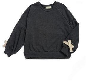 Soprano Girl's Tie-Sleeve Sweatshirt