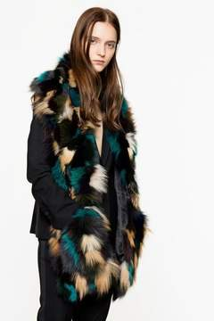 Zadig & Voltaire Zadig Voltaire Zadig Voltaire Flore Deluxe Stole