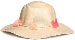 H&M Glittery Straw Hat - Beige