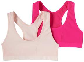 Maidenform Girls 7-16 2-pk. Seamless Racerback Sports Bras