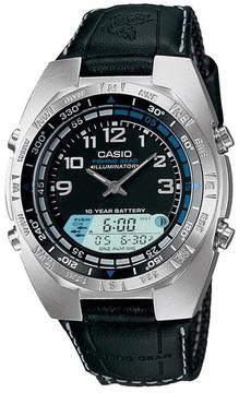 Casio AMW-700B-1AV Men's Forester Fishing timer Watch