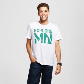 Awake Men's Minnesota Explore MN T-Shirt White
