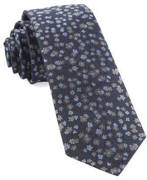 The Tie Bar Free Fall Floral Silk Tie