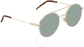 Fendi Green Round Sunglasses FF 0221/S J5G/QT