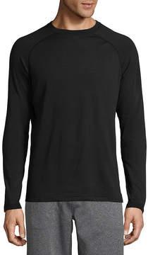 Asstd National Brand Military Fleece Crew Neck Long Sleeve Thermal Shirt Tall