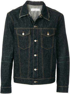 Golden Goose Deluxe Brand fitted denim jacket