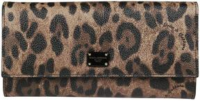 Dolce & Gabbana Leopard Continental Wallet - NERO - STYLE