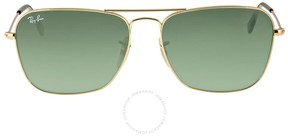 Ray-Ban Caravan Green Classic G-15 Men's Sunglasses