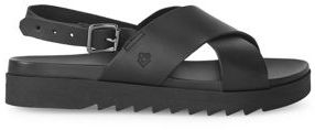 Liebeskind Berlin Buckled Leather Sandals