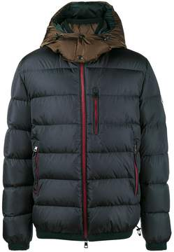 Moncler quilted feather down jacket