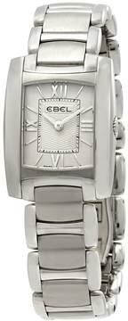 Ebel Brasilia Steel Silver Dial Ladies Watch
