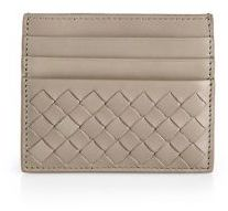 Bottega Veneta Woven Flat Card Case