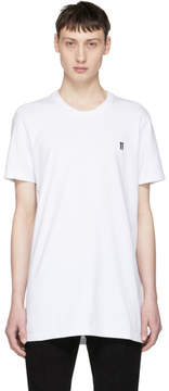 11 By Boris Bidjan Saberi White Basic Logo T-Shirt
