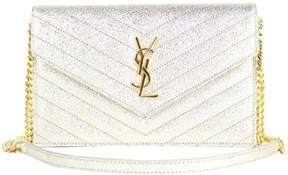 Saint Laurent Satchel monogramme leather handbag - WHITE - STYLE