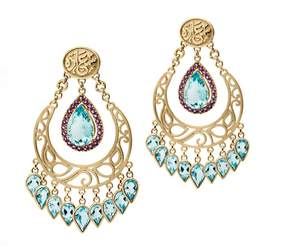 Azza Fahmy Happiness Peasant Earrings