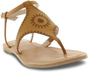Nicole Miller Women's Pyramid Flat Sandal