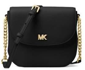 MICHAEL Michael Kors Half Dome Leather Crossbody Bag