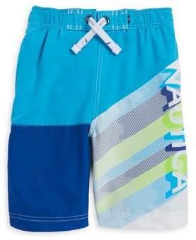 Nautica Boy's Printed Swim Trunks