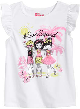 Epic Threads Little Girls Sun Squad T-Shirt, Created for Macy's