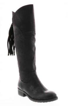 Very Volatile Black Knee-High Boot