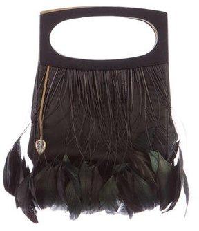 Lalique Embellished Silk Evening Bag