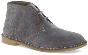 Topman Gray Suede Chukka Boots