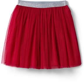 Lands' End Lands'end Girls Soft Tulle Skirt