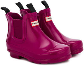 Hunter classic ankle wellie boots