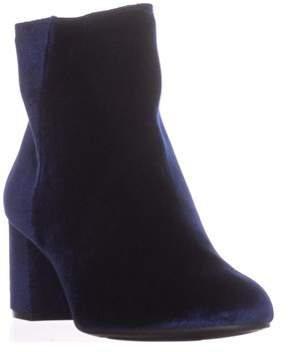 Zigi Soho Rebel By Nanon Block-heel Ankle Boots, Navy.