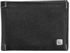 Steve Madden Men's Soft Pebble Slimfold Wallet.