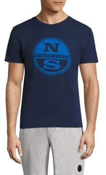 North Sails Short Sleeve Graphic Printed Tee