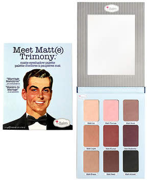 TheBalm Meet Matt(e) Trimony Matte Eyeshadow Palette Multi