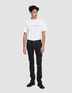 Maison Margiela Garment Dyed 5-Pocket Jeans