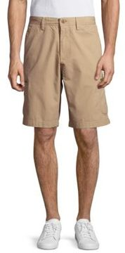 Weatherproof Six-Pocket Cotton Shorts