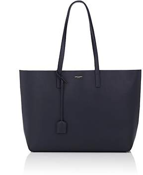 Saint Laurent Women's Shopping Tote Bag - NAVY,BLUE - STYLE