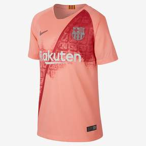 Nike 2018/19 FC Barcelona Stadium Third Big Kids' Soccer Jersey
