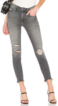 Mother High Waist Looker Ankle Chew Jean.
