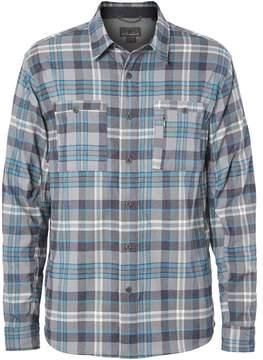 Royal Robbins Treeline Stretch Performance Plaid Flannel Shirt