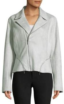 T Tahari Spears Moto Jacket