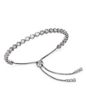 Bloomingdale's Diamond Bezel Bolo Bracelet in 14K White Gold, 3.50 ct. t.w. - 100% Exclusive