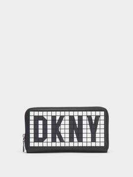 DKNY Tilly Logo Zip-Around Wallet