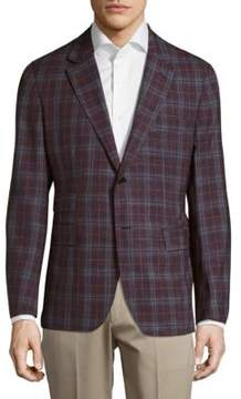 Façonnable Checkered Jacket