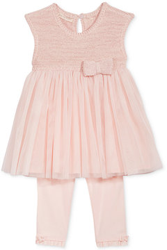First Impressions 2-Pc. Tulle Tunic & Leggings Set, Baby Girls (0-24 months), Created for Macy's