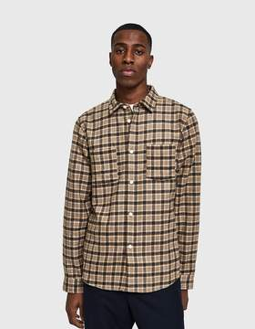A.P.C. Riga Overshirt in Taupe