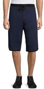 G Star Elongated Cotton Shorts
